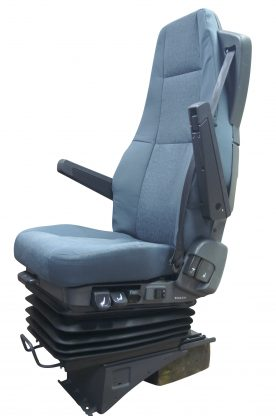 Volvo-FH-FL vrachtwagenstoel-blauw-spikkel